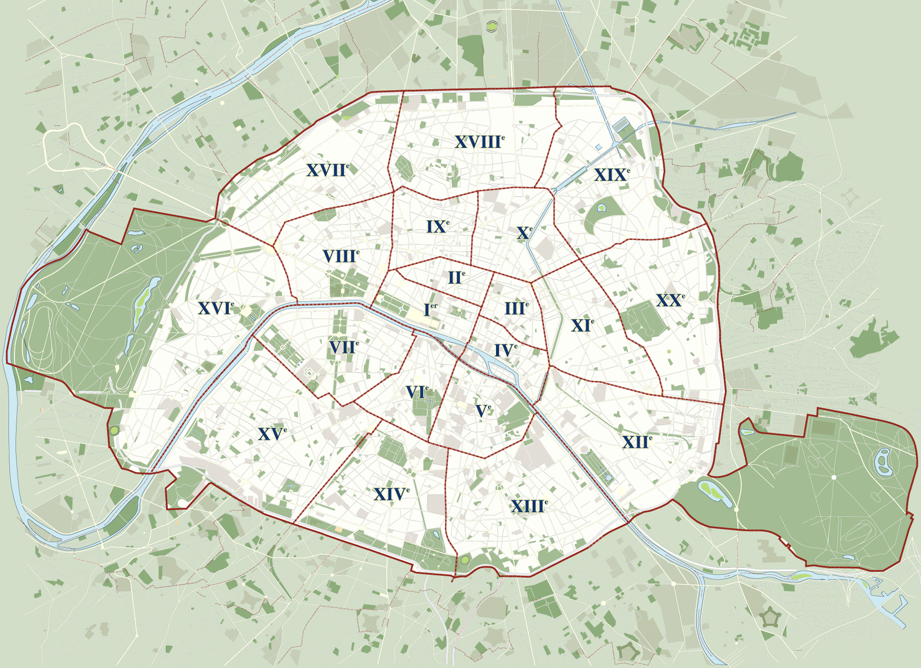 arrondissements-de-paris - Photo