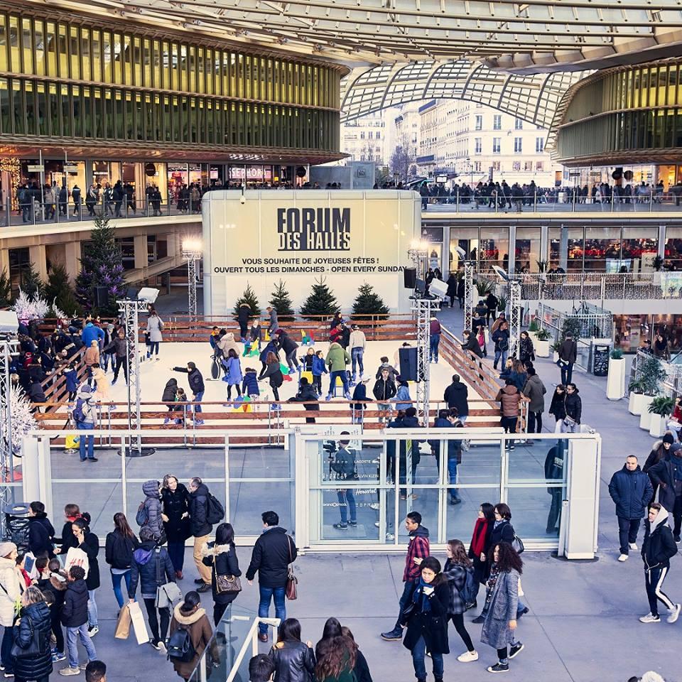 Paris : les patinoires éphémères