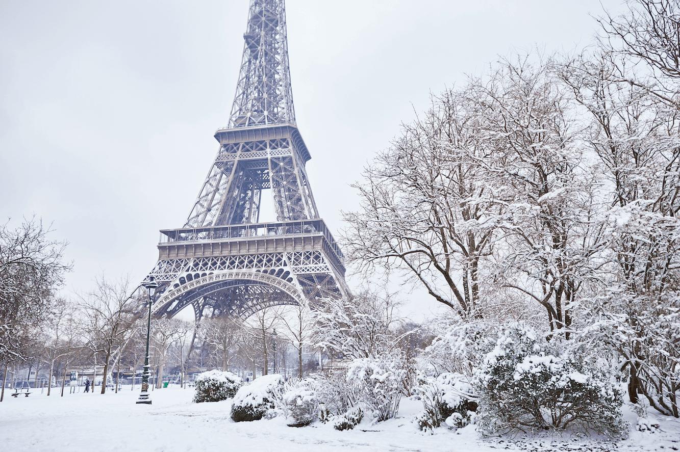 Paris La Neige Revient Jeudi Vivre Paris