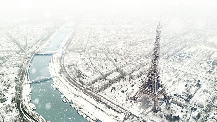 Paris Encore De La Neige Vivre Paris