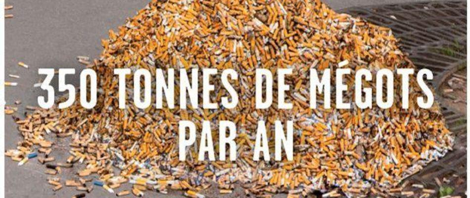 Megots Paris proprete