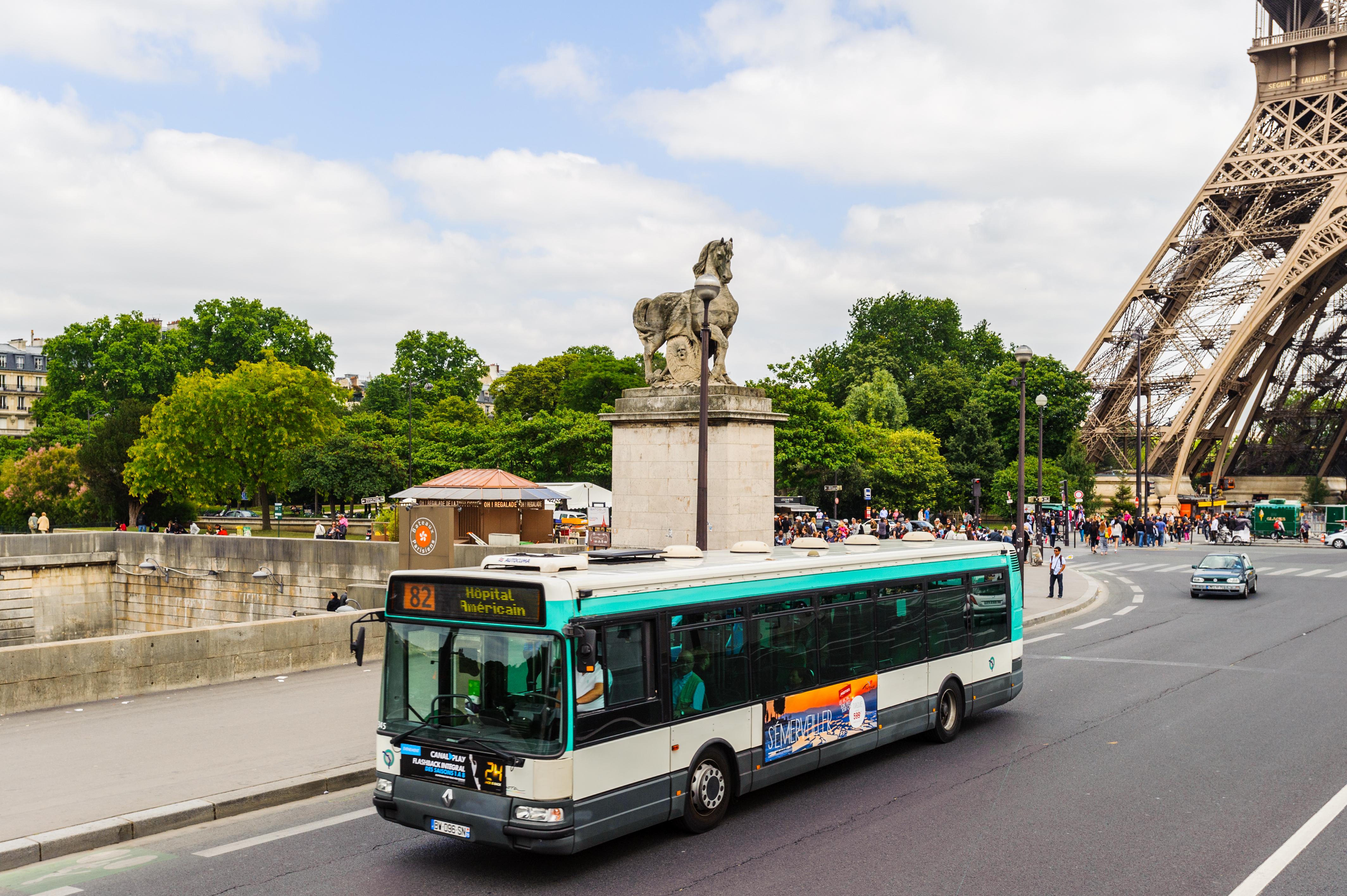 Nouveau réseau de bus parisien