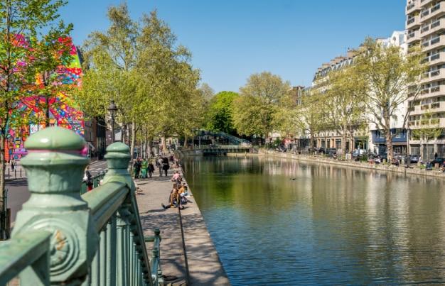 visite du canal saint martin