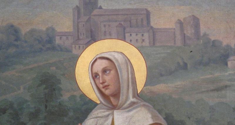 Sainte Genevieve femme influente de Paris