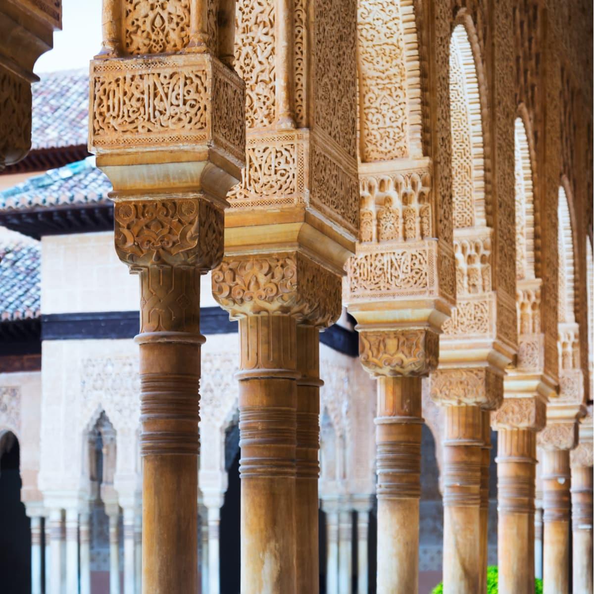 Alhambra Grenade escapade Paris Grande mosquee