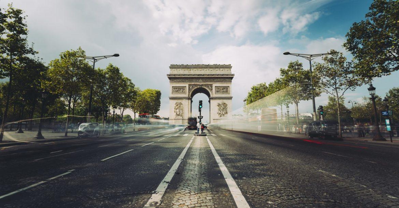 Champs Elysees Galeries Lafayette Paris shopping