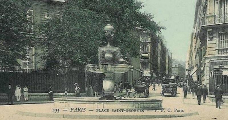 Kiki de Montparnasse Place Saint George