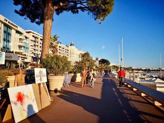 Cannes Croisette week-end