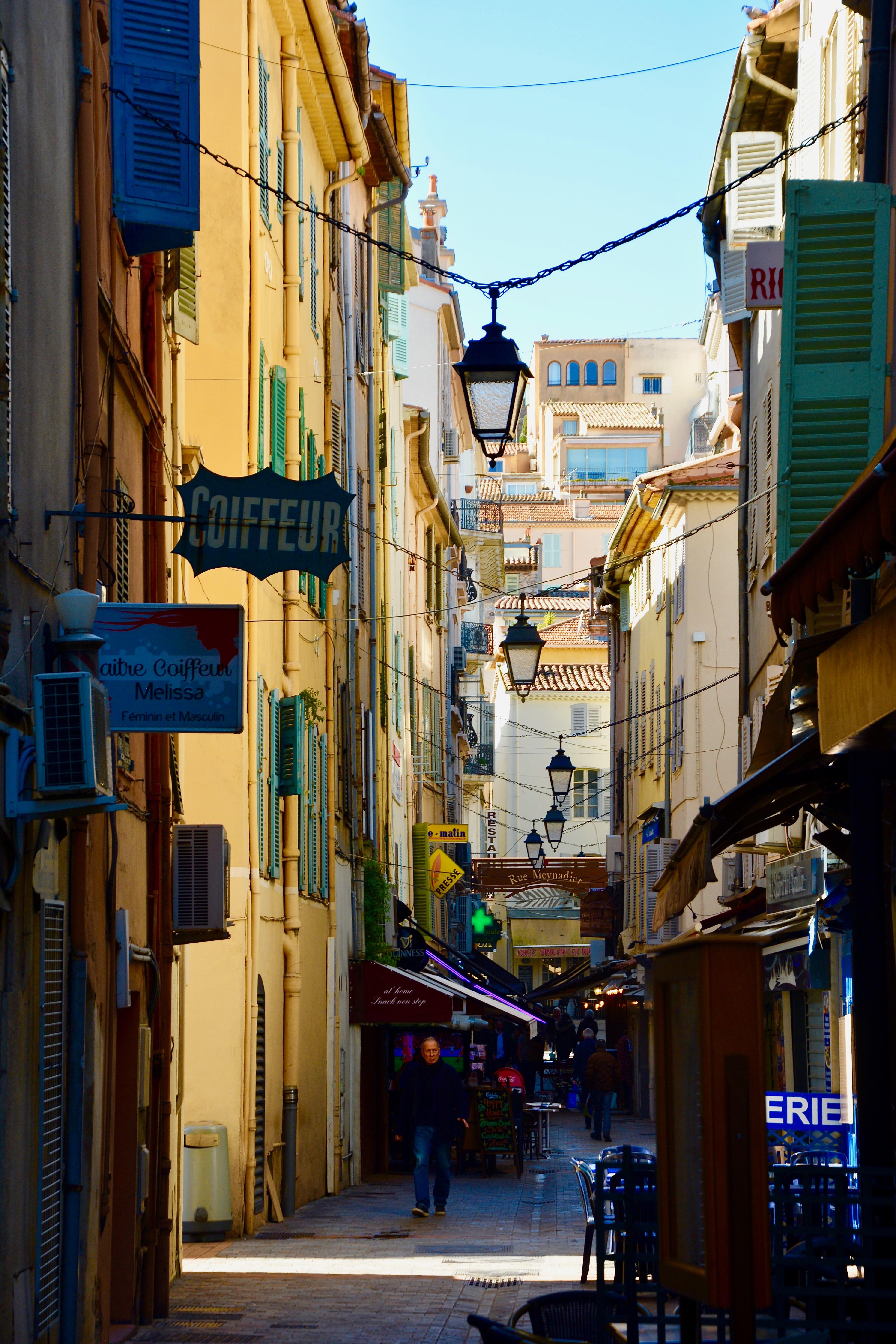 Le vieux Cannes Vivre Paris