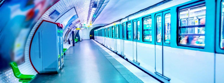 Metro parisien pollution
