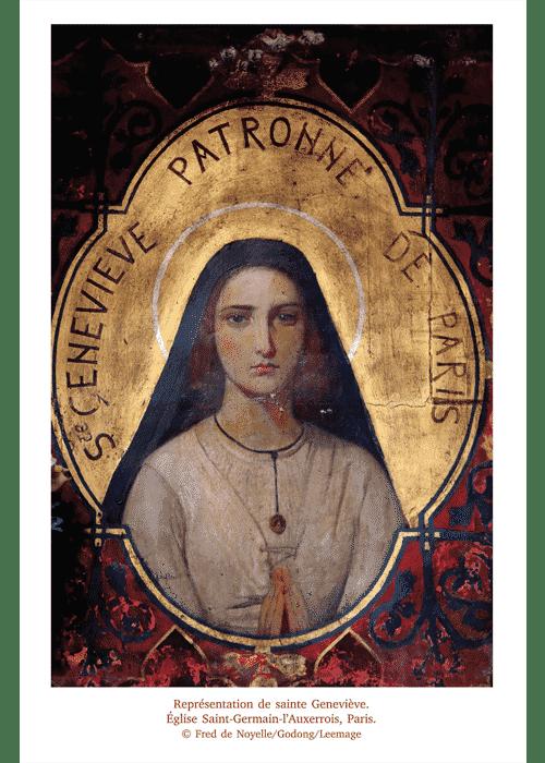 Patronne de Paris femme Genevieve