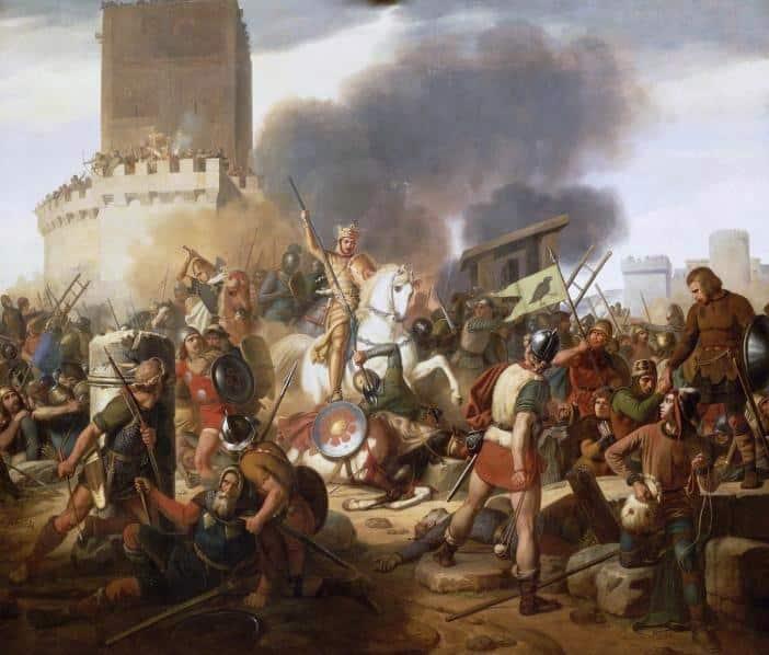 Siege de Paris 885 Sainte Genevieve