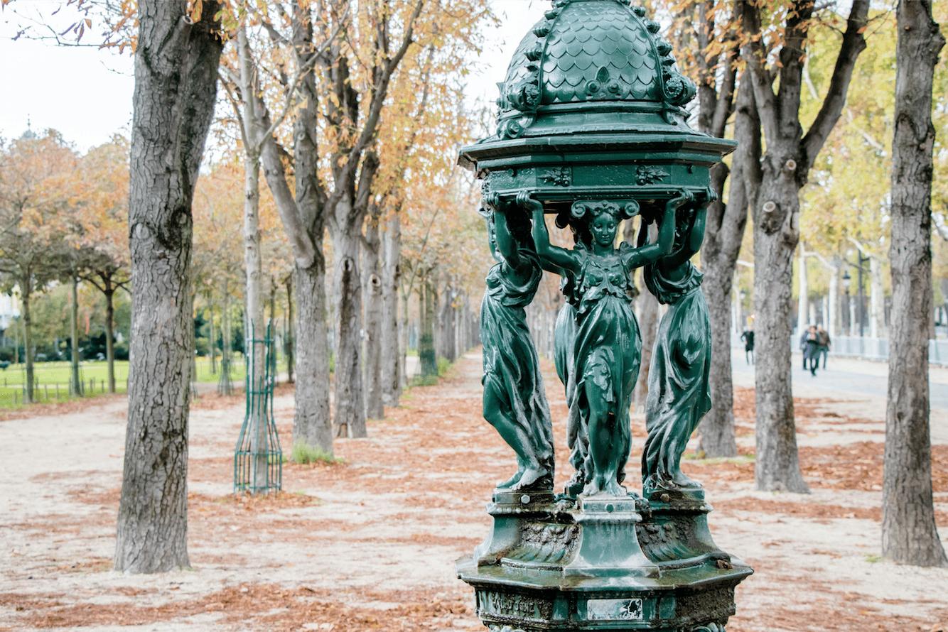 fontaine wallace paris