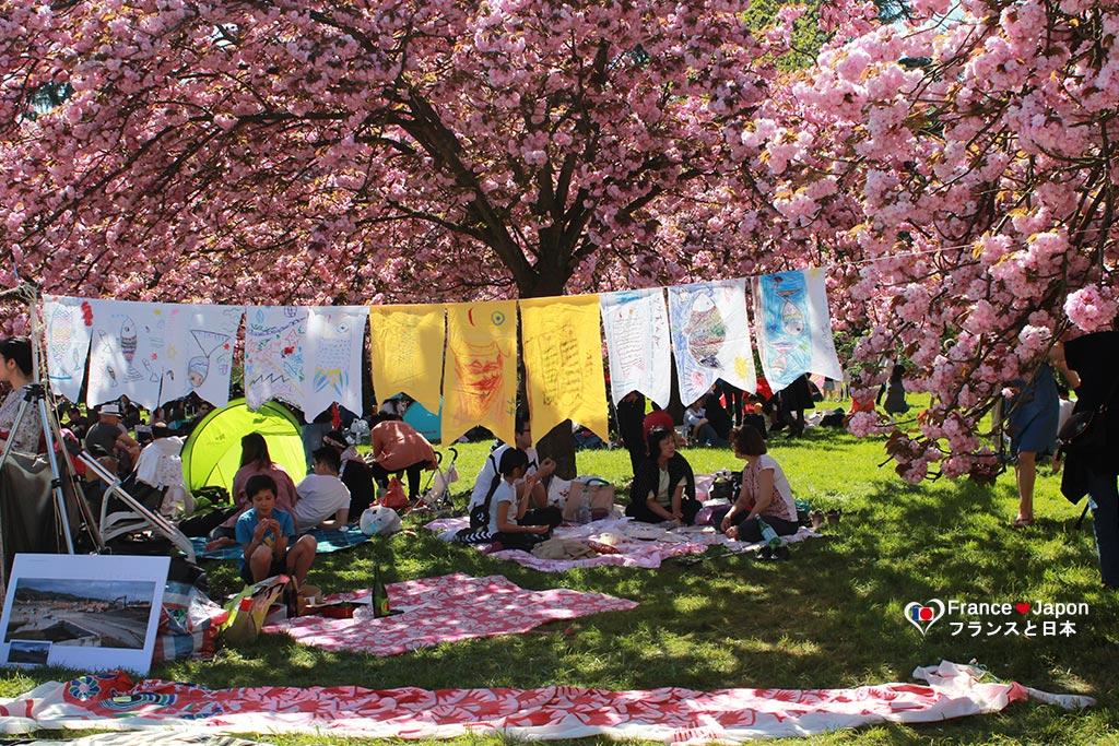 Hanami Parc de Sceaux fete japon Paris