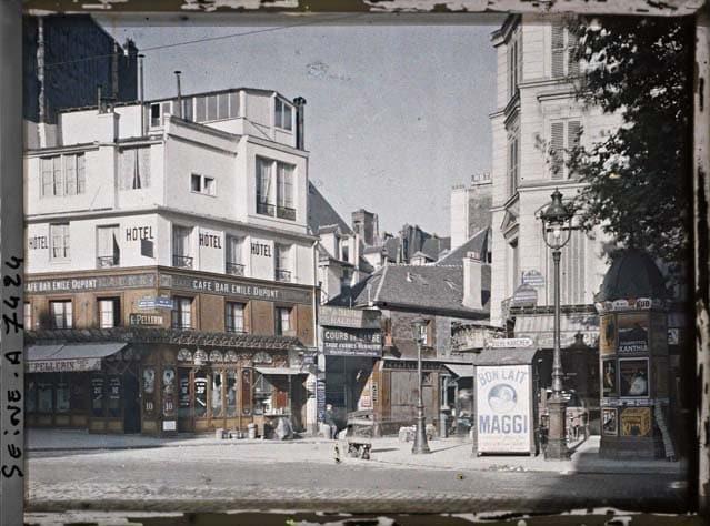 Paris boulevard Beaumarchais 1900
