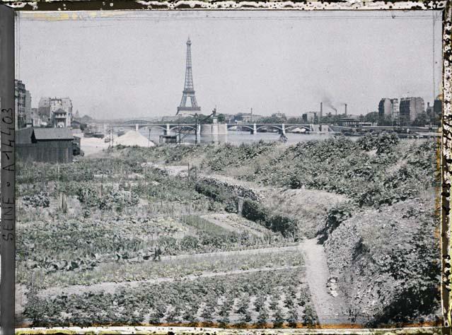Paris 1900 photos en couleurs
