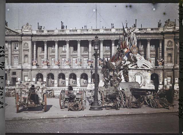 Paris photos en couleurs Grande Guerre