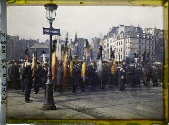 Vieux Paris photos couleurs Albert Kahn