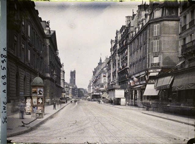 Paris Couleur 1900 Albert Kahn