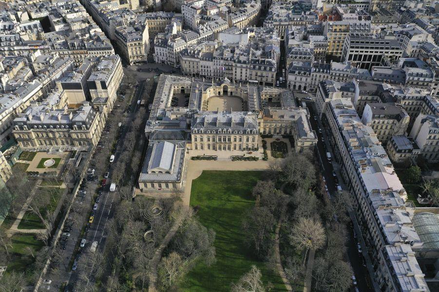 Hotel d'Evreux photo vu du ciel Paris
