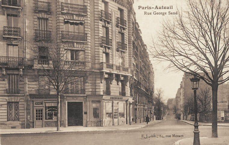 Rue George Sand Paris