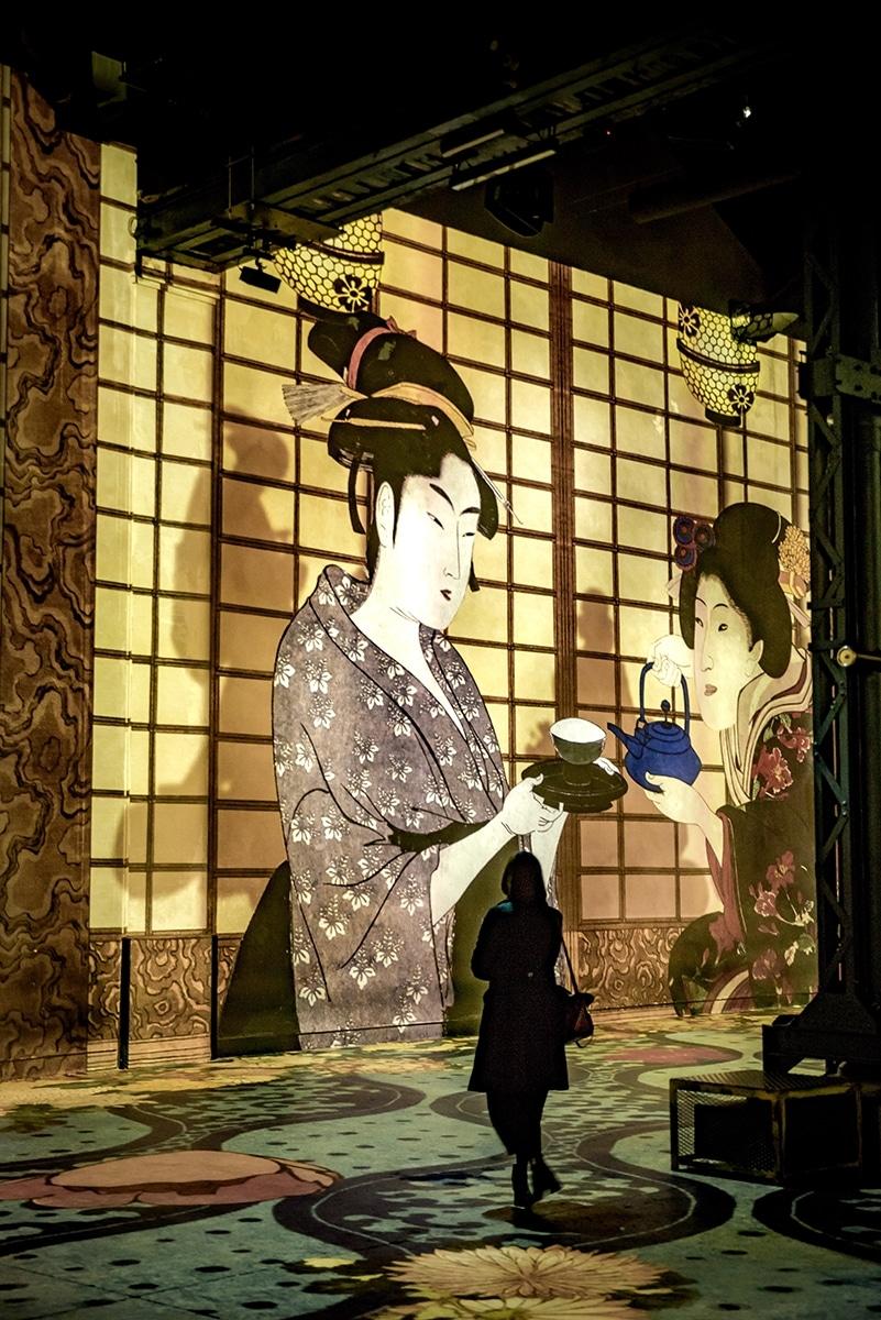 exposition Japon Atelier des Lumières Paris