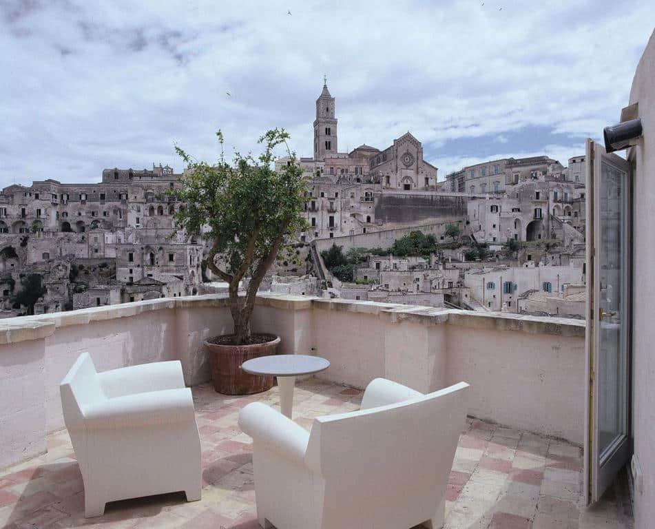 Ou dormir a Matera hotel Sassi