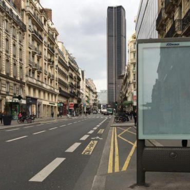 Paris publicite Clear Channel