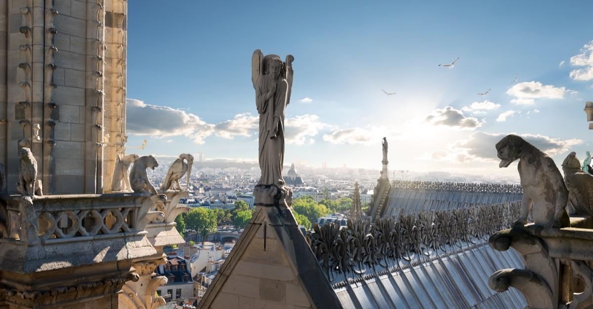 Gargouille Notre Dame travaux