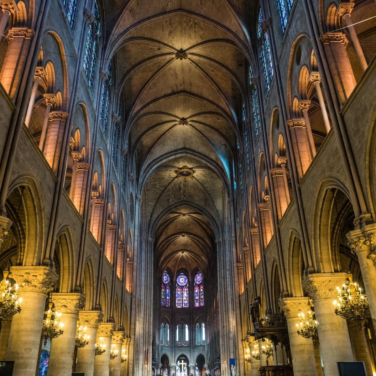 Interieur Notre Dame de Paris