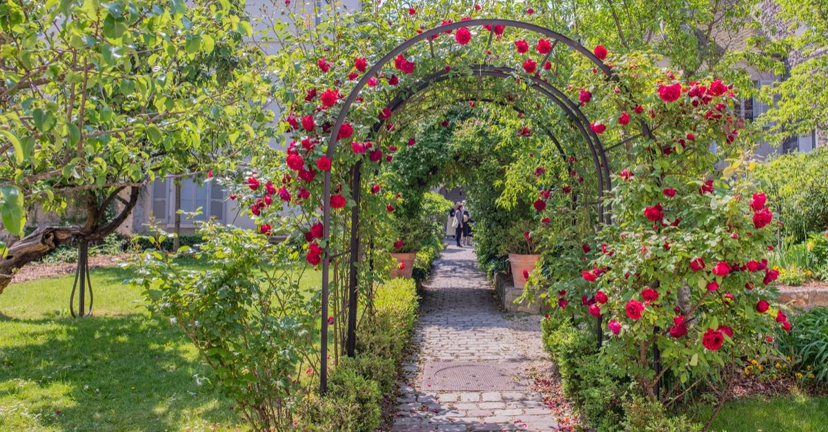 Jardin Renoir chasse aux oeufs Paques 2019 Paris