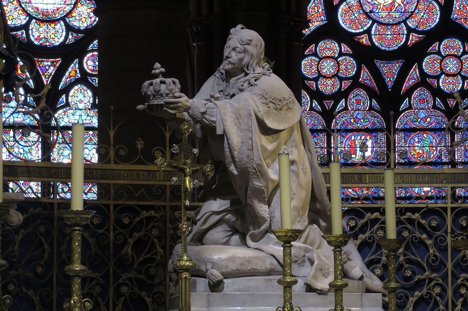 Louis XIII Notre Dame restauration