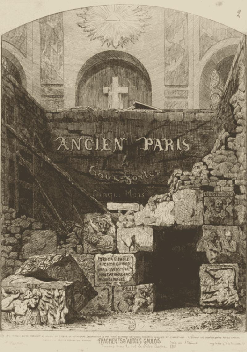Notre Dame de Paris pillier des Nautes