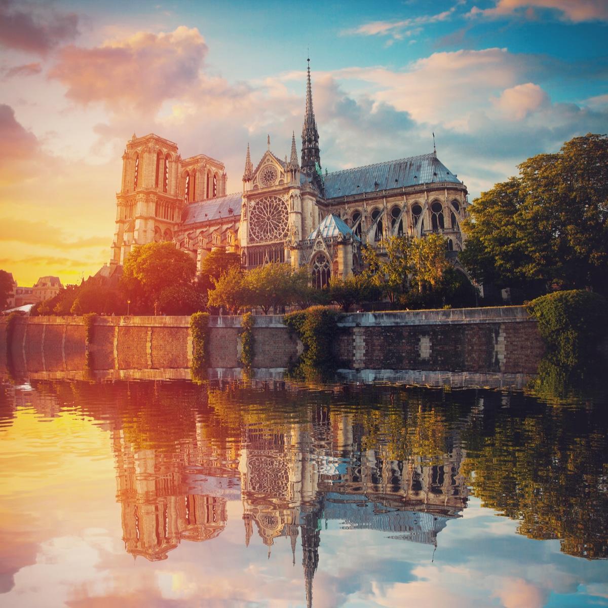 Notre Dame de Paris renovation