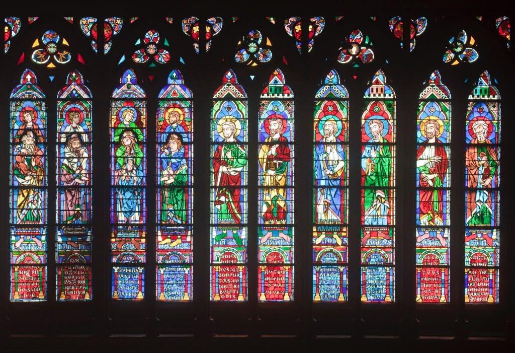 Notre Dame de Paris vitraux