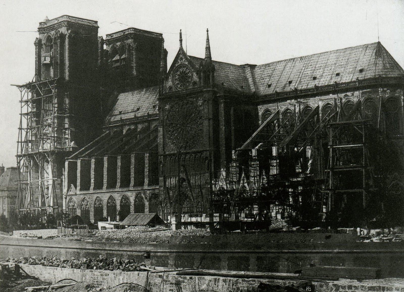 Notre Dame restauration 1847