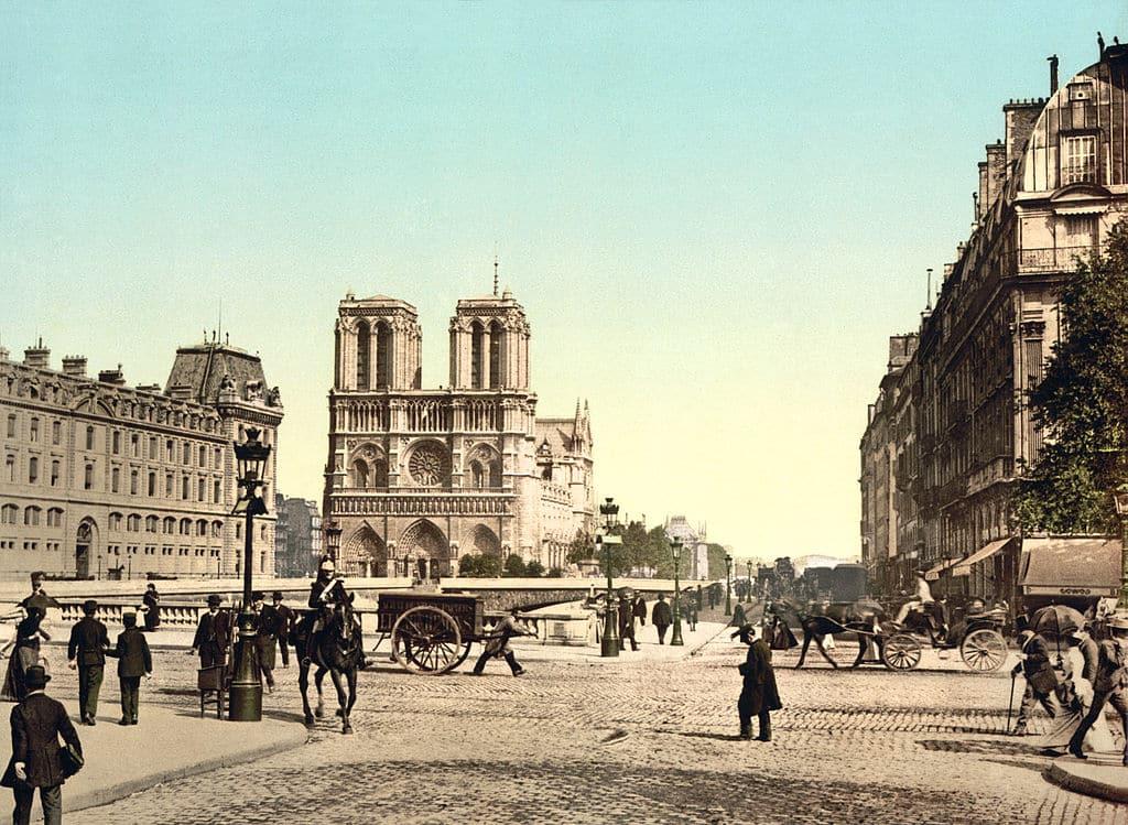 Quai Saint Michel George Sand Paris