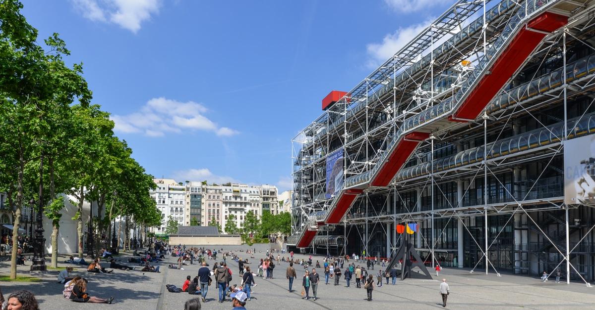 Paris Beaubourg musee