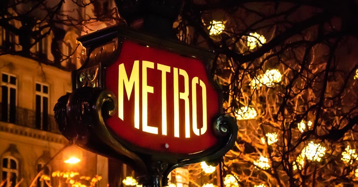 Paris experimentation metro nuit