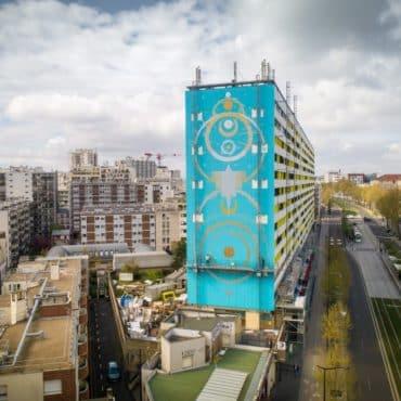 Paris fresque murale XXeme