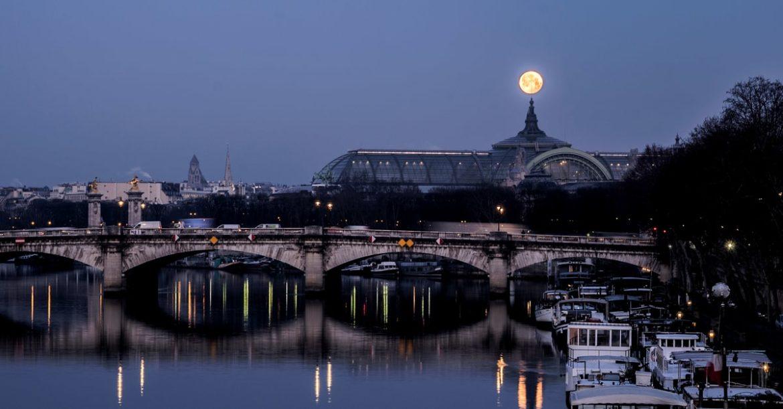 Pleine lune Paris Grand palais expo avril 2019