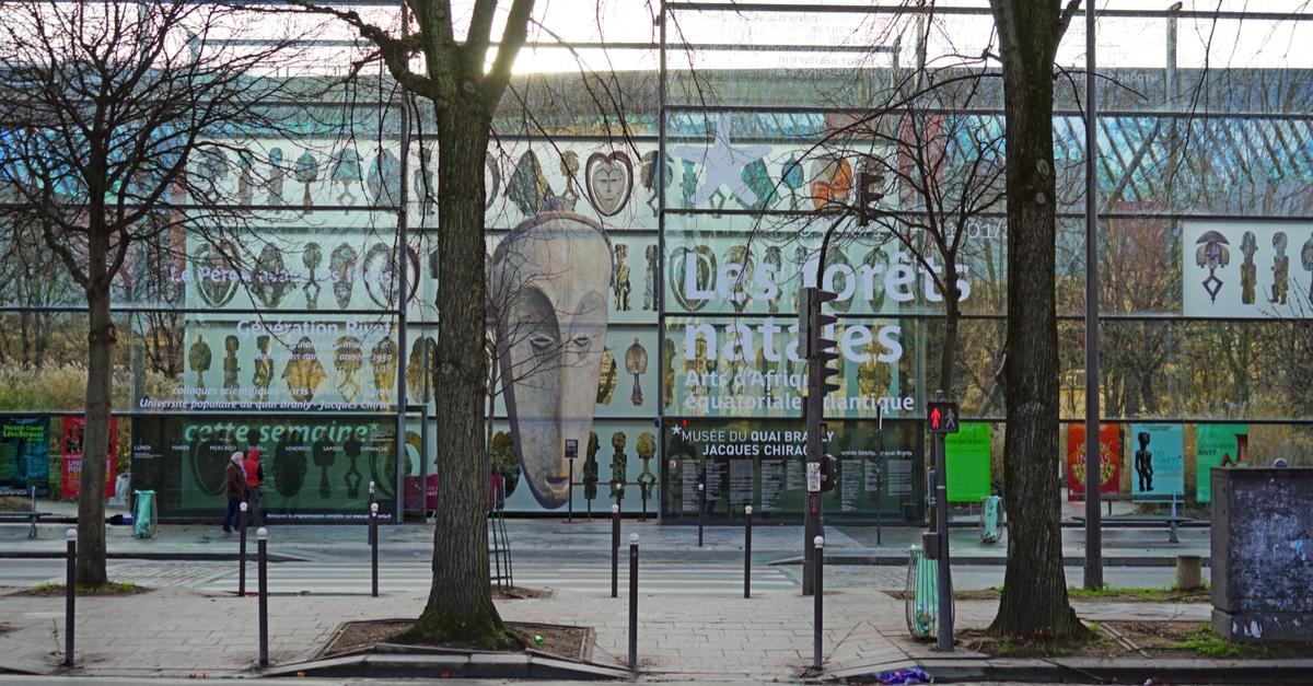 Quai Branly gratuit Paris