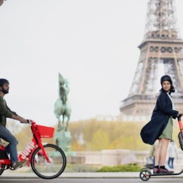 Jump Uber Paris free-floating libre-service electrique velo trottinette