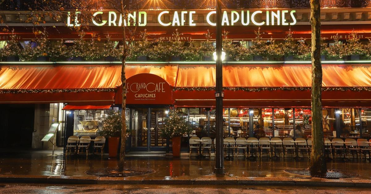 cafe paris opera