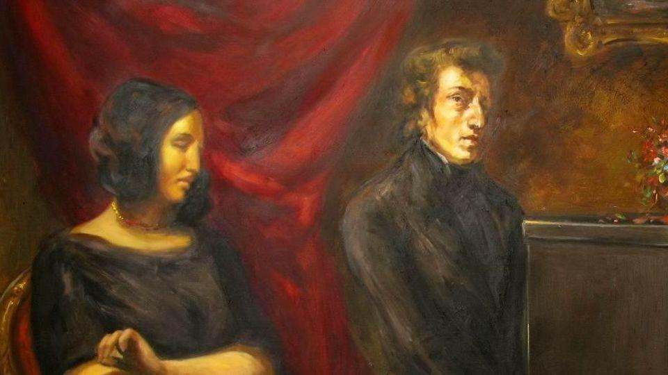 George Sand et Chopin