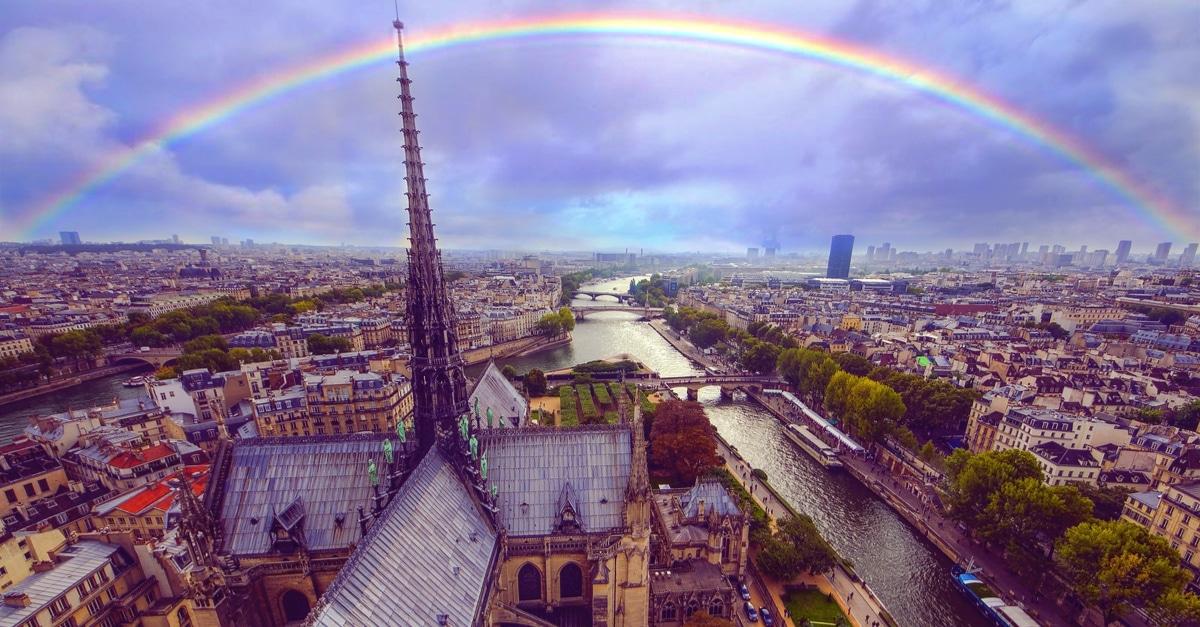 reconstruire fleche Notre-Dame