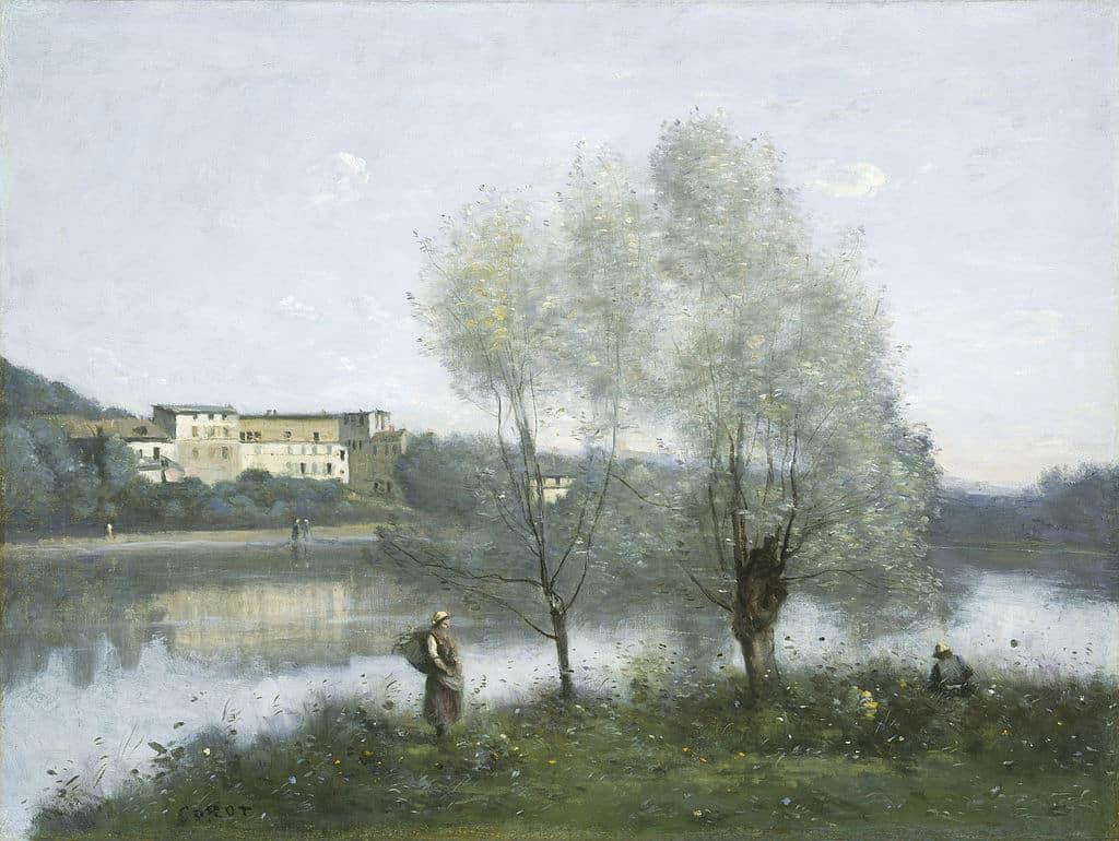 Etangs de Corot impressionniste