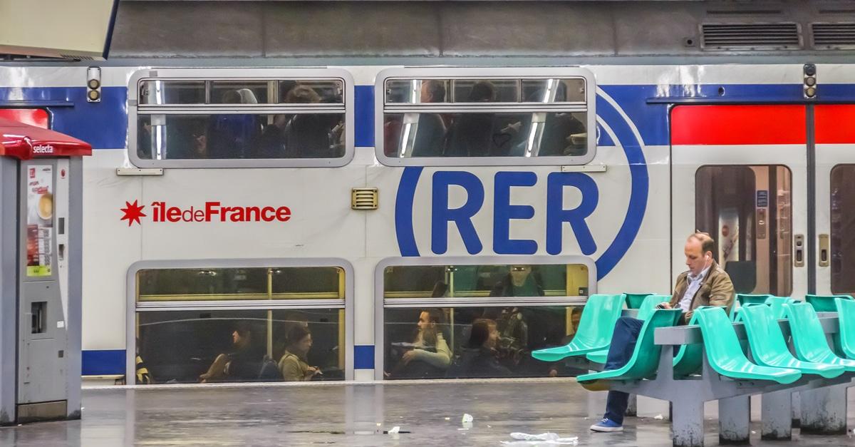 RER B pres d'un million d'usagers
