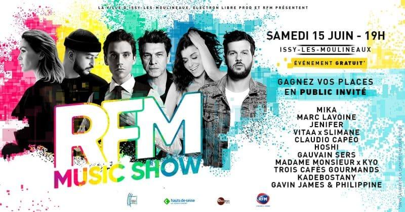 RFM concert musique