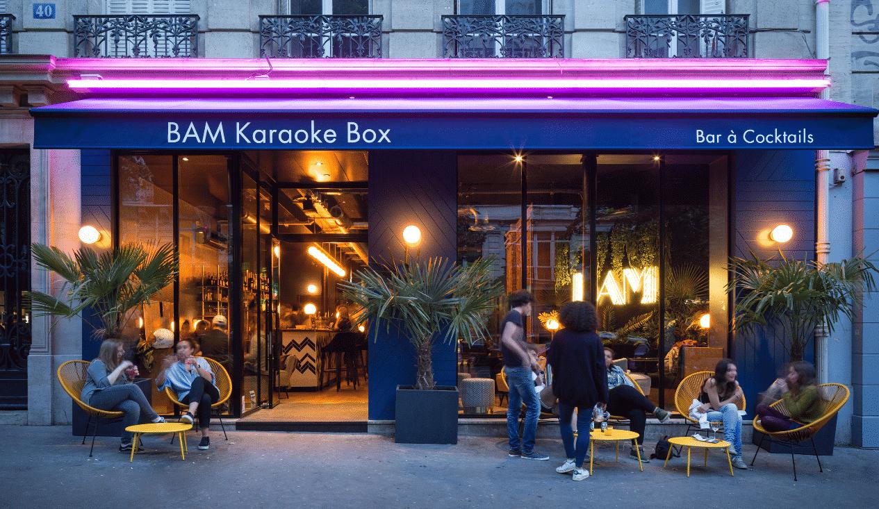 bam paris karaoke soiree